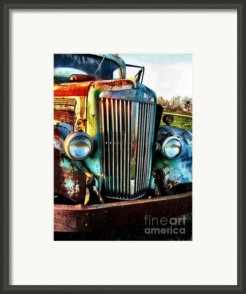 Super White Power Framed Print By Julie Dant