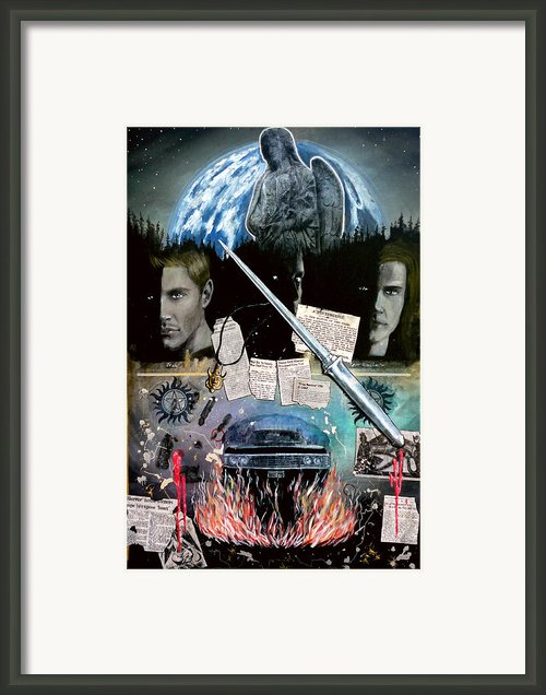Supernatural Framed Print By John Lyes