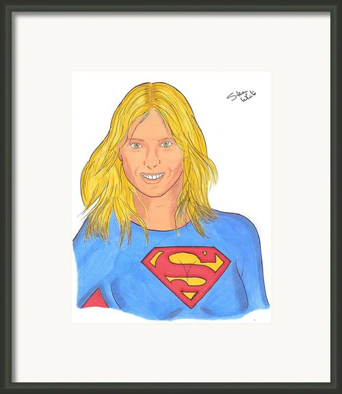 Superpova Framed Print By Steven White