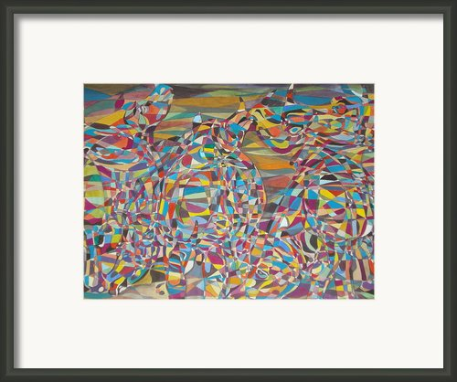 Supersonic Dynamics Framed Print By Prasenjit Dhar