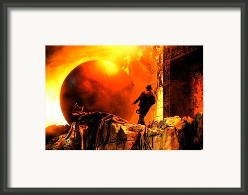 Surprise Indy Original Work Framed Print By David Lee Thompson