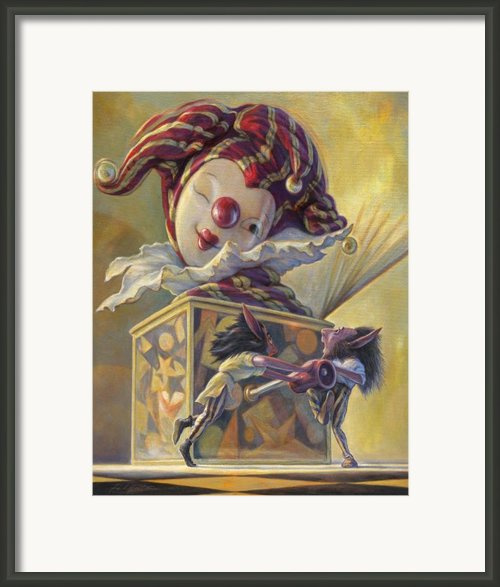 Surprise Framed Print By Leonard Filgate