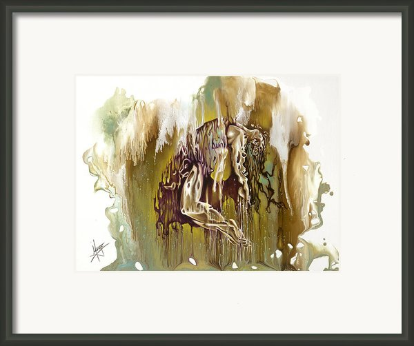 Surrender Framed Print By Karina Llergo Salto