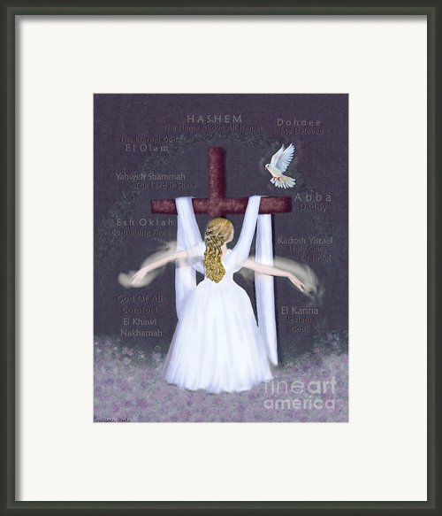 Surrender Version 2 Framed Print By Constance Woods