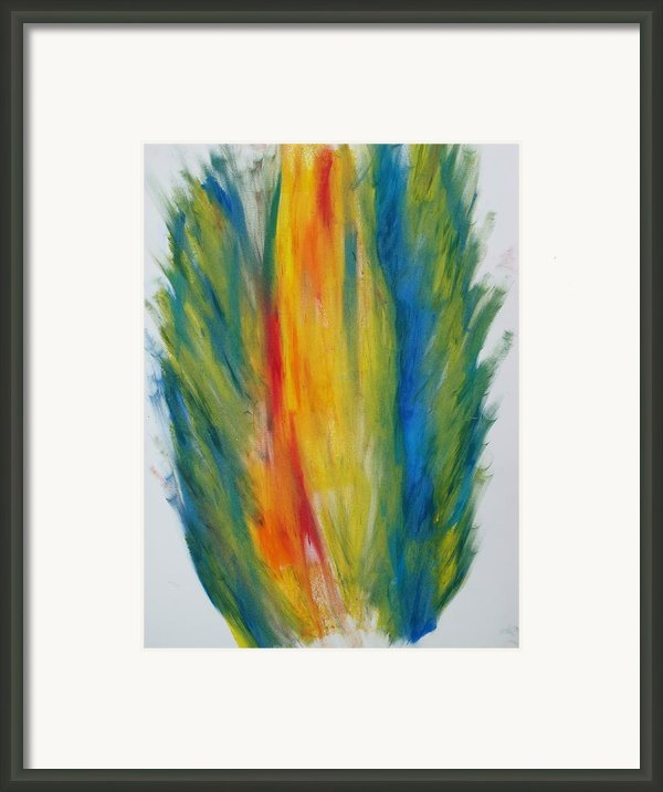 Surround Flame Framed Print By Martin Fried Md