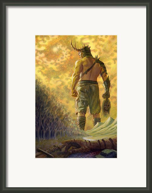Surtr Framed Print By Alan  Hawley