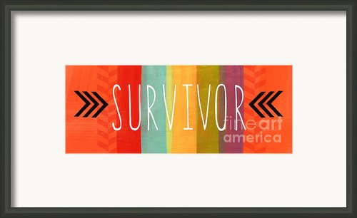 Survivor Framed Print By Linda Woods
