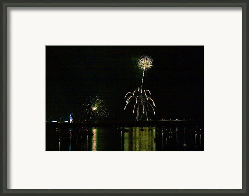 Susquehanna 4th Of July Spectacle Framed Print By Gene Walls