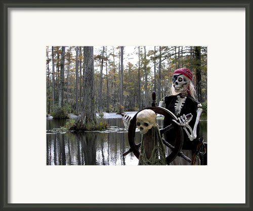 Swamp Pirate Framed Print By Karen Wiles