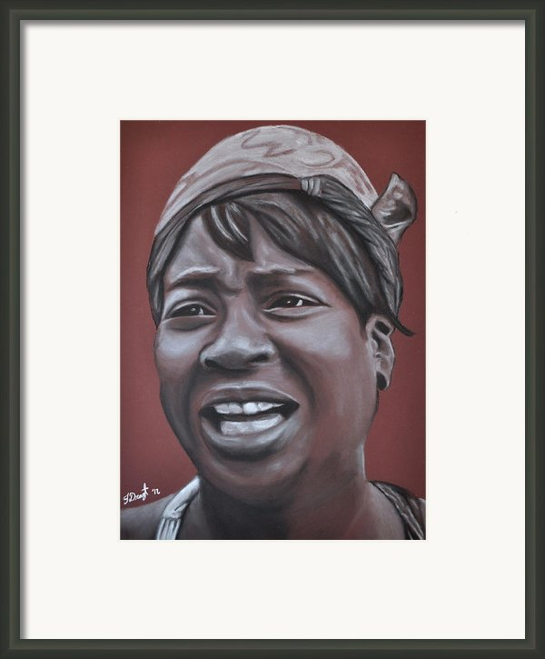 Sweet Brown Framed Print By Joe Dragt