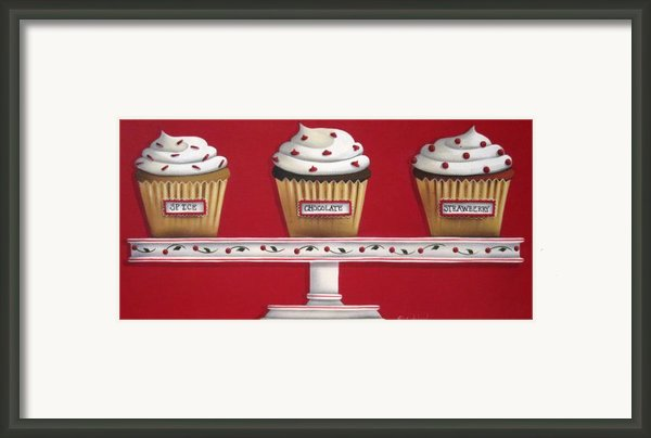 Sweet Delights Framed Print By Catherine Holman
