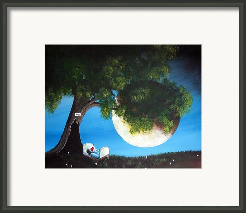 Sweet Dreams By Shawna Erback Framed Print By Shawna Erback