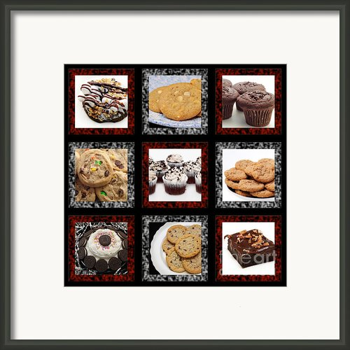 Sweets For The Sweet Tic Tac Toe 2 Framed Print By Andee Photography