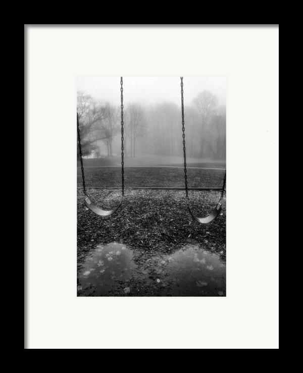 Swing Seats I Framed Print By Steven Ainsworth