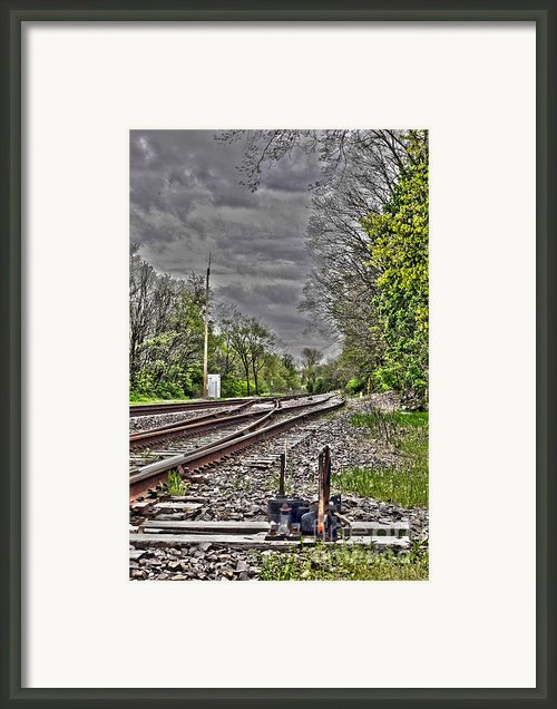 Switch Framed Print By Alan Look