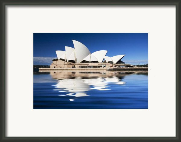 Sydney Icon Framed Print By Sheila Smart