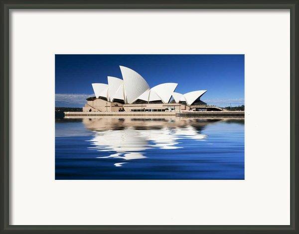 Sydney Icon Framed Print By Sheila Smart