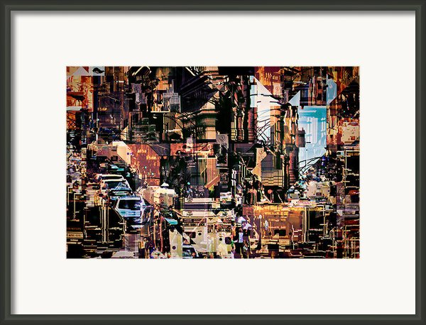 Synchronicity Ii Framed Print By Philip Sweeck