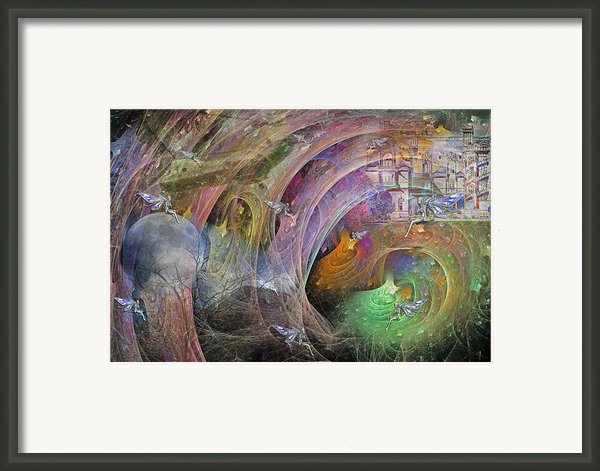 Synchronizing Times Framed Print By Betsy A  Cutler