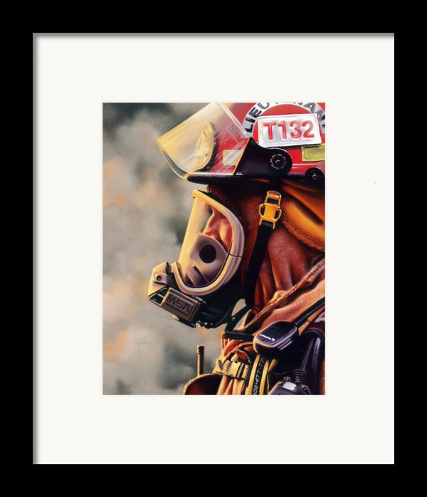 T-132 Framed Print By Dianna Ponting