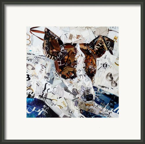T-bone Framed Print By Suzy Pal Powell