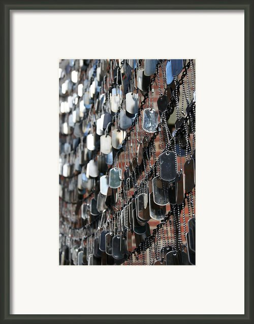 Tags Framed Print By Dj Florek