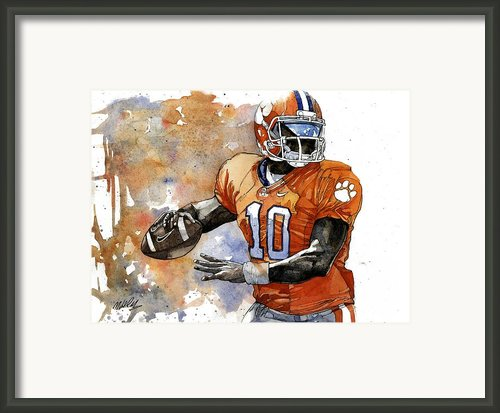 Tahj Boyd Framed Print By Michael  Pattison