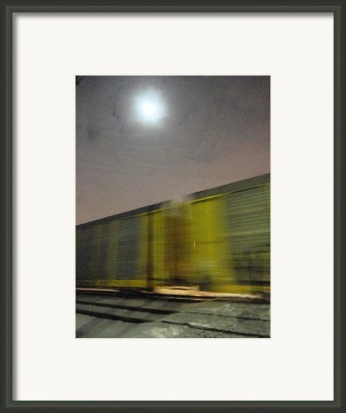 Take A Fast Train Framed Print By Guy Ricketts