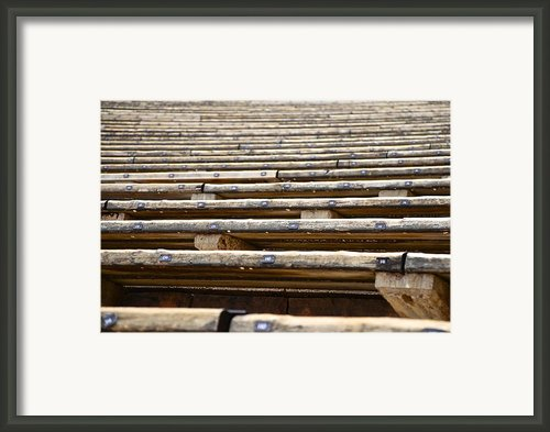 Take A Seat Framed Print By Charlie Brock