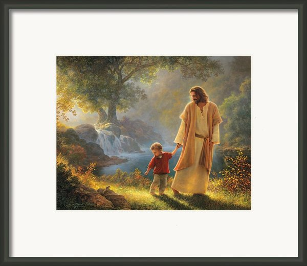 Take My Hand Framed Print By Greg Olsen