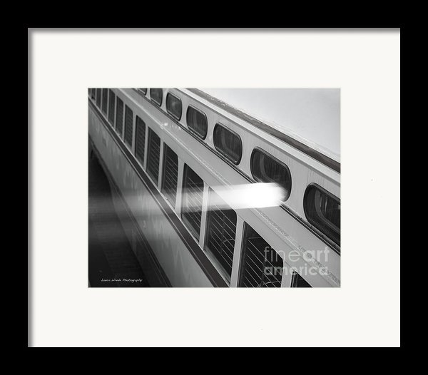 Taking The Bus In San Francisco Framed Print By Artist And Photographer Laura Wrede