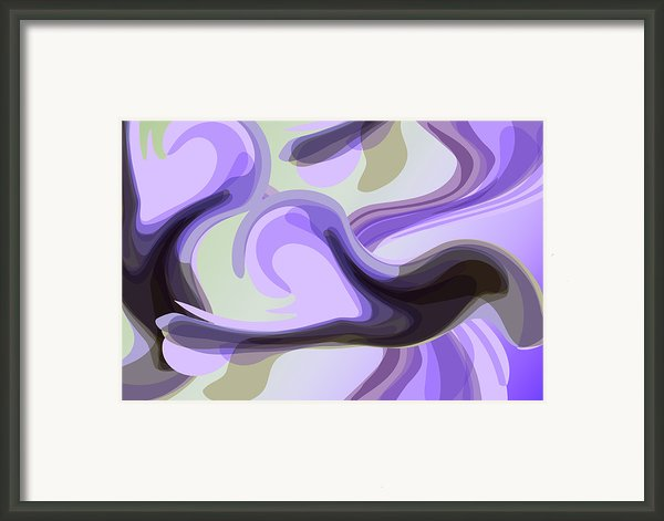 Talk To Me 2 Framed Print By Angelina Vick