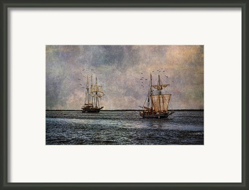 Tall Ships Framed Print By Dale Kincaid