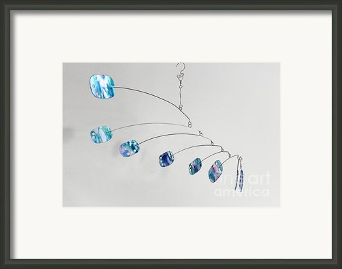 Tangled Zen Framed Print By Carolyn Weir