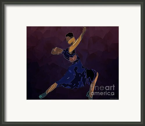 Tango To Heaven Framed Print By Pedro L Gili