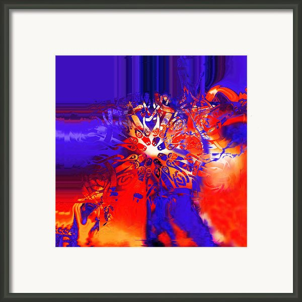 Target Framed Print By Vagik Iskandar