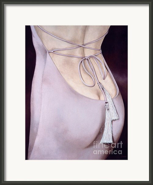 Tassels Framed Print By Lawrence Supino