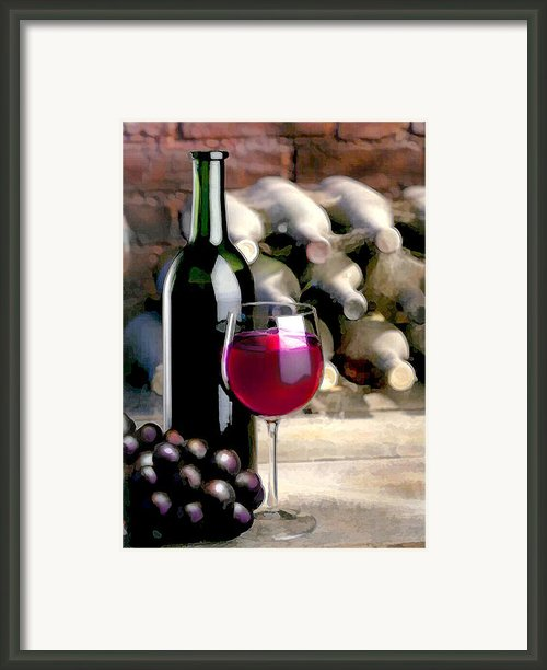 Tasting Time Framed Print By Elaine Plesser