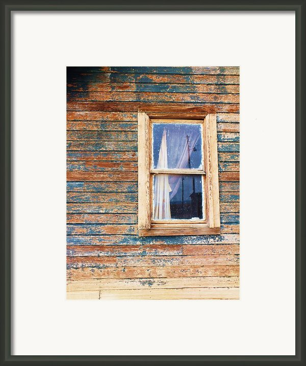 Tattered Framed Print By Anna Villarreal Garbis