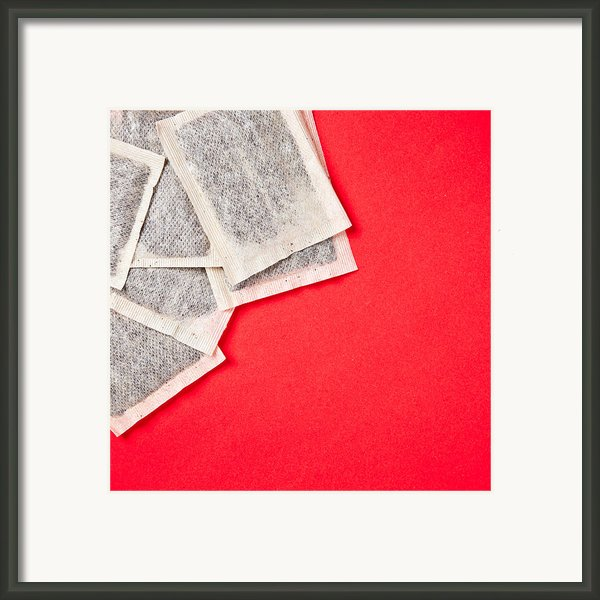Tea Bags Framed Print By Tom Gowanlock