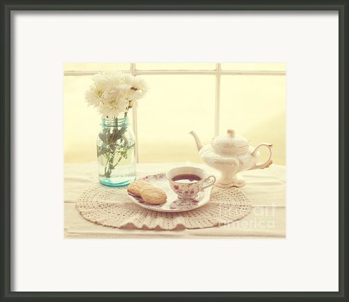 Tea Time Framed Print By Kay Pickens