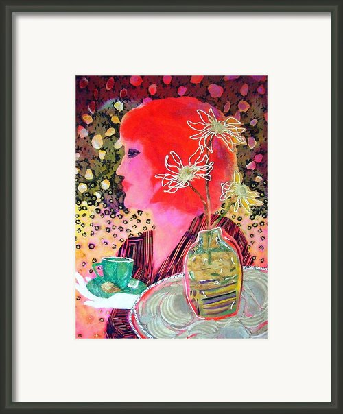 Teabag Framed Print By Diane Fine