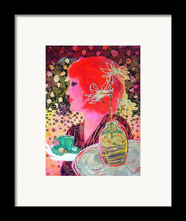 Teabag Framed Print By Diane Fine