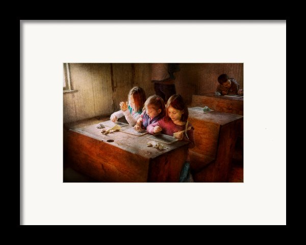 Teacher - Classroom - Education Can Be Fun  Framed Print By Mike Savad