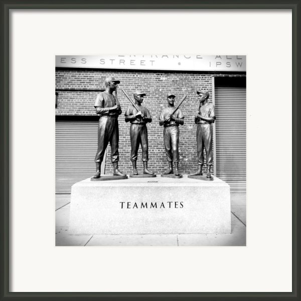 Teammates Framed Print By Greg Fortier