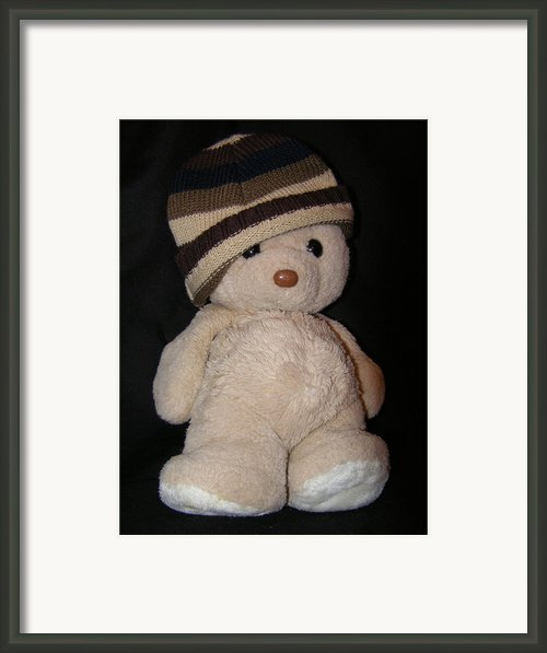 Teddy Wants To Hug You Framed Print By Catherine Ali