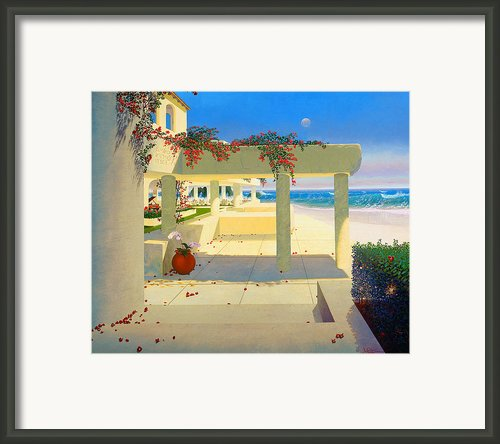 Telos Mu Mural From The Accelerated Evolution Series Framed Print By Loren Adams