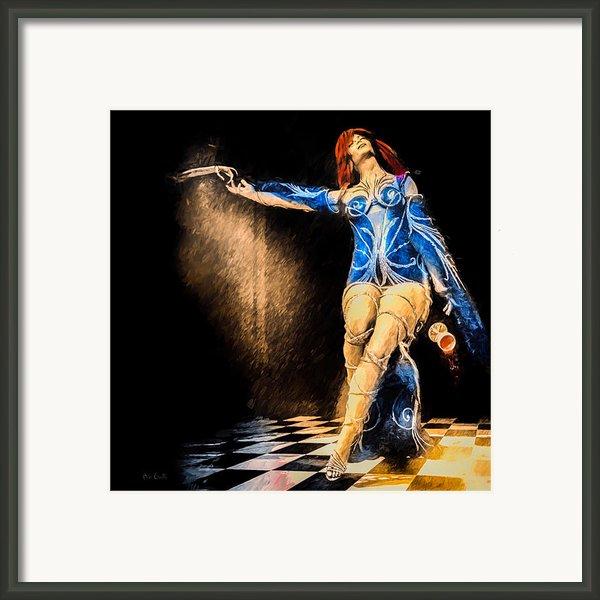 Temptation  Framed Print By Bob Orsillo