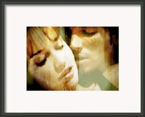 Tenderness Framed Print By Gun Legler