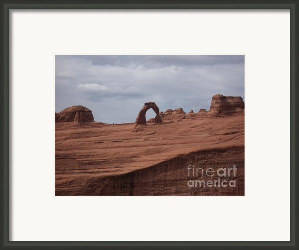Test Of Time Framed Print By Luke Moore